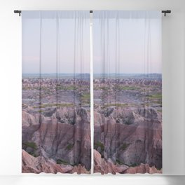 Badlands Pink Blackout Curtain
