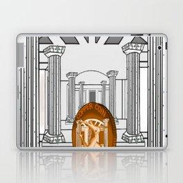 Necropolis Coin Copper 3 Laptop & iPad Skin