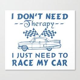 Race my car Canvas Print