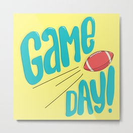 Game Day! Metal Print