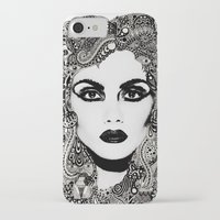 psych iPhone & iPod Cases featuring psych hair by Blak Hand