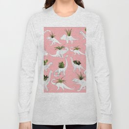 Dinosaurs & Succulents Long Sleeve T-shirt