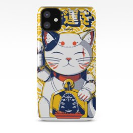 Mecha Manekineko iPhone Case