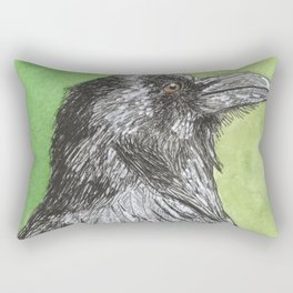 Majestic Raven Rectangular Pillow