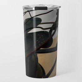 Antique fan and candlestick Travel Mug