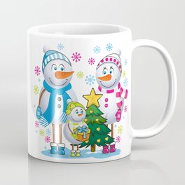 Family snowmans Coffee Mug