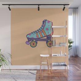 Rollerskate Wall Mural