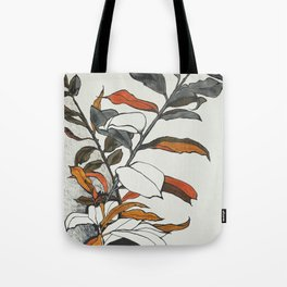 70s flowers Tote Bag