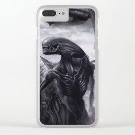 Alien - Xenomorph Clear iPhone Case