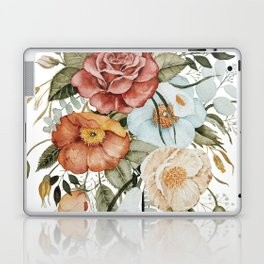Roses and Poppies Laptop & iPad Skin