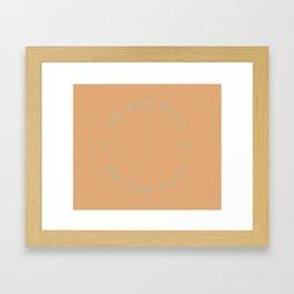 good days Framed Art Print