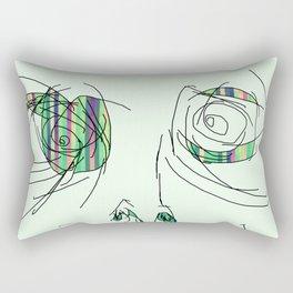 Waitin To Get Back To Bed Rectangular Pillow