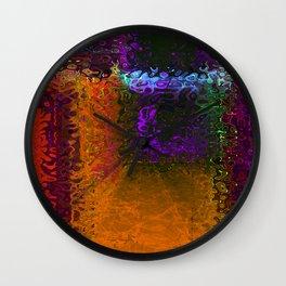 Side Street Wall Clock