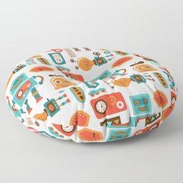 Funky Robot Floor Pillow