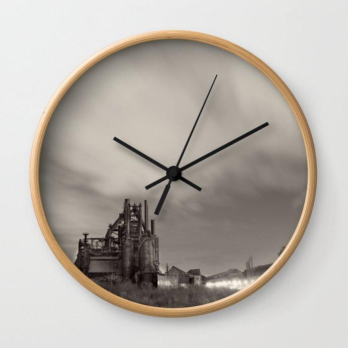 Bethlehem Steel Wall Clock