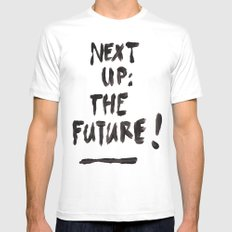 The Future MEDIUM White Mens Fitted Tee