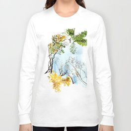 the only way out is up Long Sleeve T-shirt