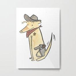 Sheriff JoJo  Metal Print