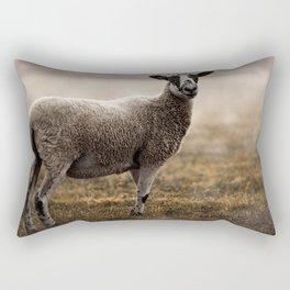 Dartmoor Wild Sheep Rectangular Pillow