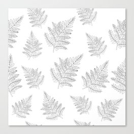Farn Pattern Canvas Print