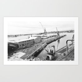 Cockatoo Island 26 Art Print