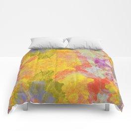 Sideways Garden Comforters