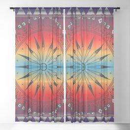 Morning Sky Sheer Curtain