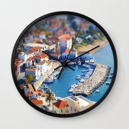 Miniature Port Wall Clock