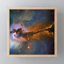 Stellar Spire in the Eagle Nebula Framed Mini Art Print