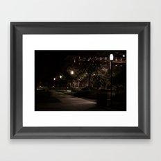 A Walk Framed Art Print