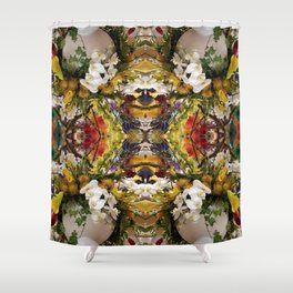 Beautiful Day (Mandala #85b) Shower Curtain