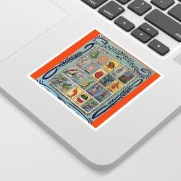 Mexican Bingo Loteria Sticker