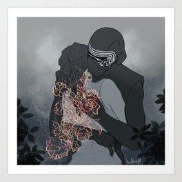 new flowers would bloom. Art Print