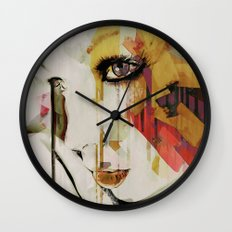 Pages Abstract Portrait Wall Clock