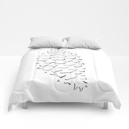 Sugar Pine Cone Comforters