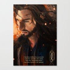 Thorin: I Seefire Canvas Print