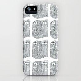 Mr Face iPhone Case