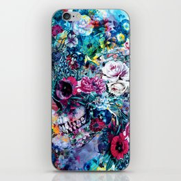 Surreal Skull iPhone Skin