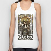 monster inc Tank Tops featuring Smugglers, Inc by Arinesart