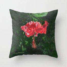 Flamenco by Teresa Thompson Throw Pillow