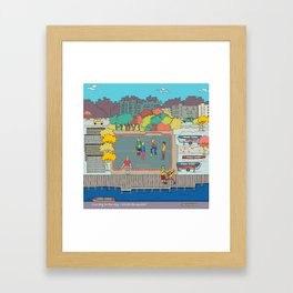 One day in the city - We do the squads? Framed Art Print