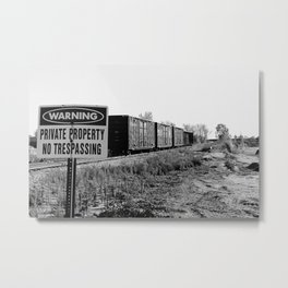 Illegal Metal Print
