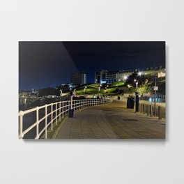 View of Plymouth Hoe at Night / Early Morning Metal Print