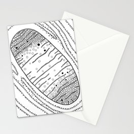 Mitochondria, the Powerhouse Stationery Cards
