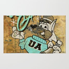 UA Cat Poster Rug