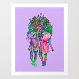 infloresence  Art Print
