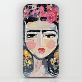 Portrait Inspired by Frida iPhone Skin