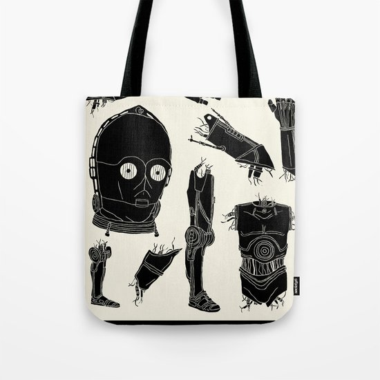 Decommissioned: C-3P0 Tote Bag