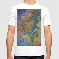 Dazed and Confused in Crazy Colors Mens Fitted Tee White MEDIUM