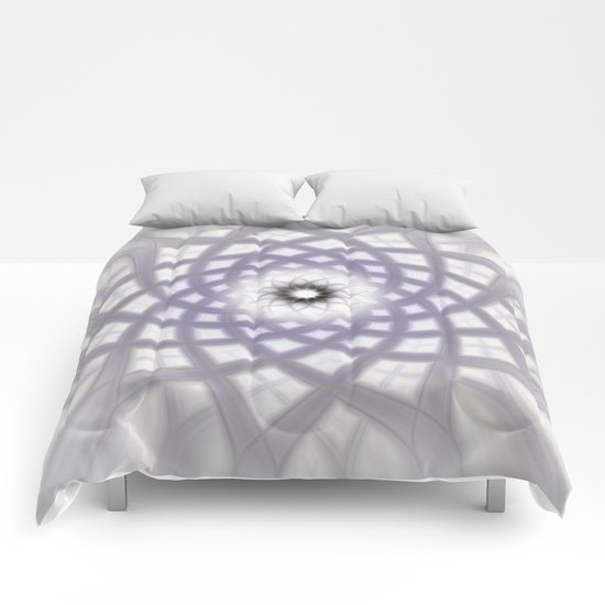 Lilac Twirl Comforters